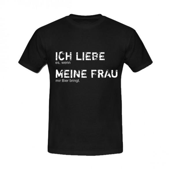 T-Shirt: Ich liebe meine Frau